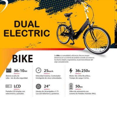 DUAL ELECTRIC BIKE